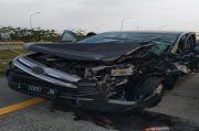 Pulang Dari Ponorogo, Rombongan Khofifah Kecelakaan di Jalan Tol