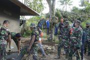 Rumah Warga Rusak Diterjang Angin, Danrem 121 Kerahkan Pasukannya