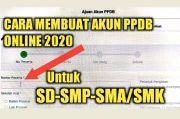 Agar Mudah Daftar PPDB Jalur Zonasi, Calon Peserta Bisa Buat Akun Lebih Awal