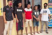 Bawa Sabu, Tiga Pria Tanjung Tiram Diangkut Polisi