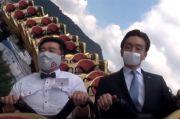 Naik Roller Coaster di Masa Pandemi, Taman Hiburan di Jepang Larang Pengunjung Berteriak