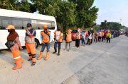Pasukan Orange Ikut Rapid Test Relawan Indonesia Bersatu Lawan Covid-19