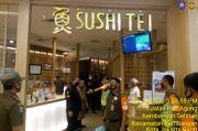 Tak Terapkan Protokol Kesehatan, Restoran Sushi Tei Didenda Rp10 Juta