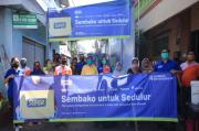 1.450 Paket Sembako Disebar untuk Warga Terdampak COVID-19 di Jatim