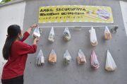 Aksi Curang Warga Sikat Cantolan Sembako di Kudus Terekam CCTV