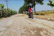 Jalan di Sragen Ini Rusak Puluhan Tahun, Sering Terjadi Kecelakaan
