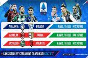 RCTI Plus Siap Tayangkan Langsung Laga Perburuan Gelar dan Tiket Kompetisi Eropa di Serie A
