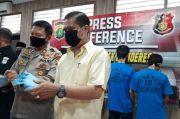 Peras Pedagang Perlengkapan Sekolah, Wartawan dan Polisi Gadungan Dibekuk