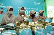 Mandiri Syariah Ajak Milenial Pakai Masker Sekaligus Beramal