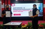 Telkom Indonesia dan SINDO Makassar Perpanjang Kerjasama
