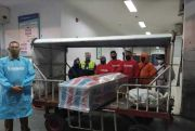Tim Gugus Bantaeng Jemput Jenazah TKI di Malaysia dengan Protokol Kesehatan