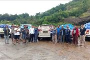 Himpunan Pengusaha Sorowako Bantu Korban Banjir Bandang di Lutra