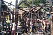 Satu Asrama Pondok Pesantren di Puncak Bogor Dilalap si Jago Merah