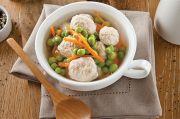 Chicken and Ricotta Dumpling Soup Sehat dan Menghangatkan