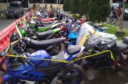 Puluhan Sepeda Motor Berknalpot Blombongan Diamankan Polres Sleman