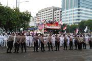 Ribuan Demonstran Kepung Gedung DPR, Tolak RUU HIP dan Cipta Kerja