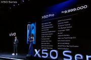 Vivo X50 dan X50 Pro Resmi Meluncur di Indonesia, Harganya Tembus Rp10 Juta