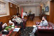 Temui Mahfud MD, Kepala Bakamla Bahas Keamanan Maritim dan Pembentukan IMIC