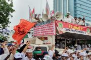 Ini Lima Tuntutan Massa Tolak RUU HIP di depan Gedung DPR