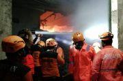 2 Gudang Penyimpanan Kapas PT Bati di Sragen Ludes Terbakar
