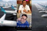 Ngobrol Bareng Raffi Ahmad, Dirut Garuda: Engga Cukup Bos Dana Talangan Rp8,5 T