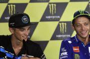 Beda Nasib Valentino Rossi dan Luca Marini Jelang Balapan Perdana