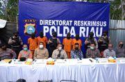 Polda Riau Bongkar Penyulingan Minyak Ilegal Milik PT Chevron