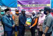 Enrekang Kirim 15 Truk Bantuan Sembako dan Pakaian ke Lutra
