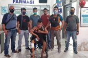 Serang Polisi Pakai Kunci T, Kaki Si Kumis Jebol Ditembak Polisi