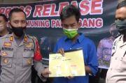 Tergiur Untung Jutaan, Buruh di Palembang Nyambi Jadi Bandar Sabu
