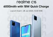 Indonesia Dipilih Jadi Negara Pertama Meluncurnya Ponsel 6.000 mAh Realme C15
