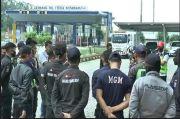 Gaji Dipotong, Sekuriti Tol Trans Sumatera Lampung Demo Kantor Hutama Karya