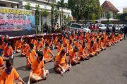 Polrestabes Surabaya Gulung Ratusan Bandit Jalanan