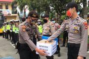 Anggota Polres Tana Toraja Galang Dana Untuk Koban Bencana Masamba