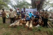 Perhutani Randublatung Bagikan 500 Paket Suplemen ke Pekerja Hutan