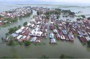 Ribuan Hektar Lahan Pertanian Rusak Terendam Banjir di Wajo