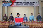 Bupati Kabupaten Sumbawa Barat Ambil Sumpah 226 PNS