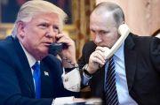 Trump-Putin Lakukan Pembicaraan Via Telepon, Ini yang Dibahas