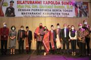 Kapolda Sumut Silahturahim dengan Forkopimda dan Tomas Kabupaten Tobasa