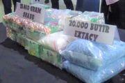 Polrestabes Medan Ciduk Pengedar 15 Kg Sabu dan 20 Ribu Butir Pil Ekstasi