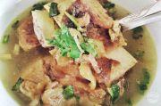 Gurihnya Soto Tunjang Palembang Cocok untuk Makan Siang