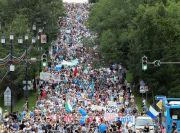 Ribuan Demonstran Kecam Vladimir Putin di Timur Jauh Rusia