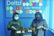 Delta FM Makassar-Gastros MaRI Gelar Program Traktir Makan Siang Kantoran
