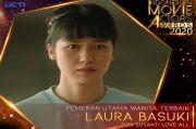 Laura Basuki Rebut Trofi Pemeran Utama Wanita Terbaik IMA Awards 2020