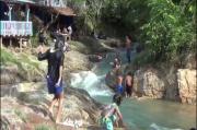 Wisata Kali Boro-boro Diserbu Wisatawan di Tengah Pandemi