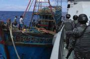 Curi Ikan, Bakamla RI Sergap Kapal Ikan Vietnam di Laut Natuna Utara