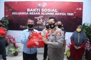 Akpol 1991 Salurkan 1.000 Paket Sembako untuk Warga Jakut