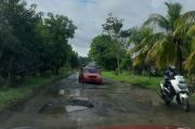 Usai Digenangi Banjir, Jalan Trans Provinsi di Wajo Rusak Parah