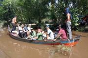 Petani Labura Hilang Dimangsa Buaya di Sungai Parit Cina