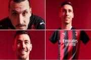 Ibrahimovic Ikut Pamerkan Seragam Anyar AC Milan, Tanda Tak Jadi Hengkang?